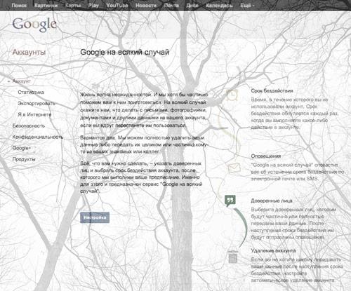 Google после смерти