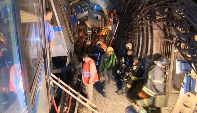 Фото трагедии в метро