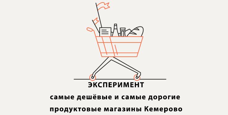 Продуктовые магазины Кемерово