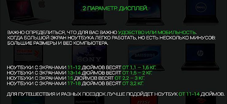 2 параметр. Дисплей