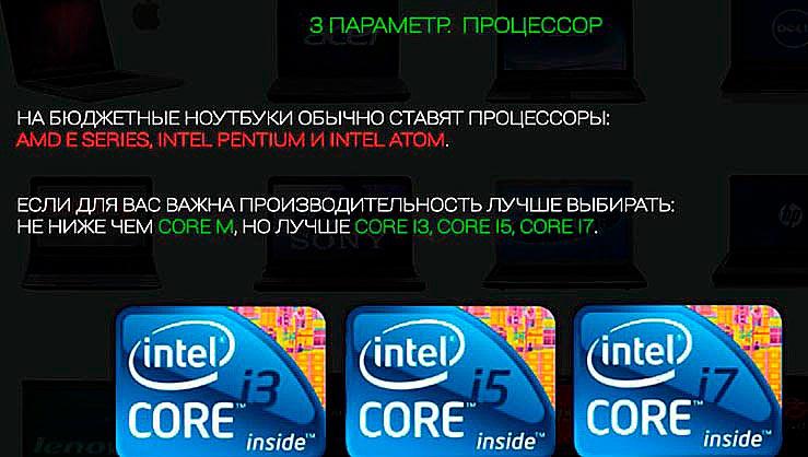 3 параметр. Процессор