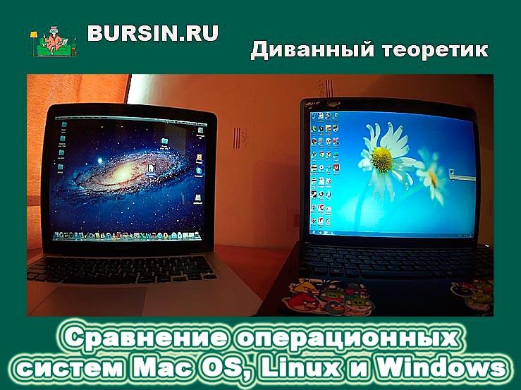 Сравнение операционных систем